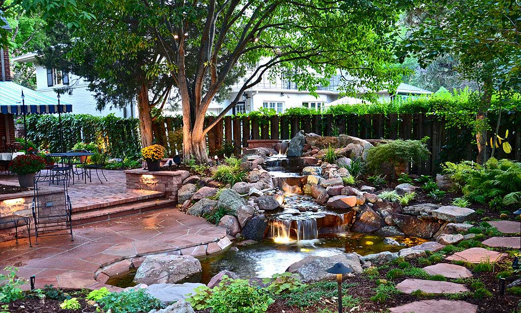 Landscaping design roma landscape design for Outdoor garden designs